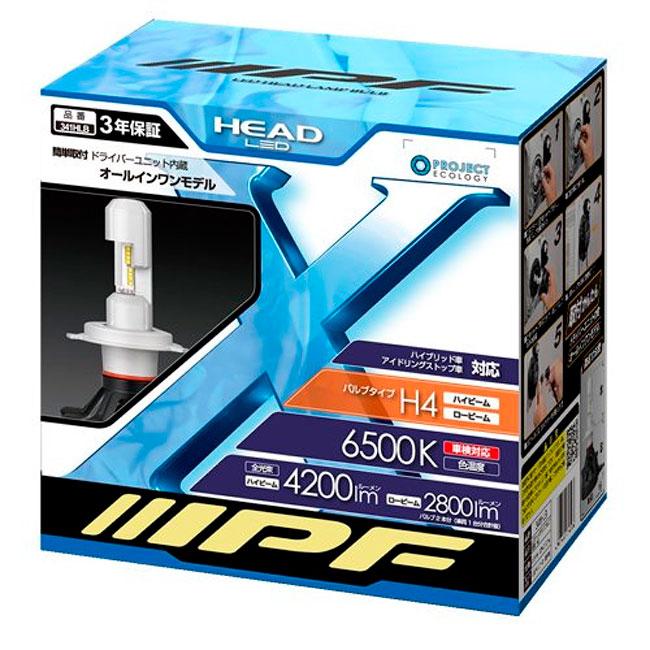 IPF Led Head 6500 K