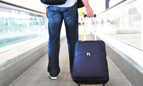 Ручки и колесики чемодана