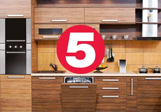 топ 5 встраиваемых посудомоек