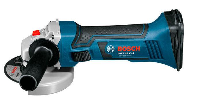 Bosch GWS 18 125 V Li