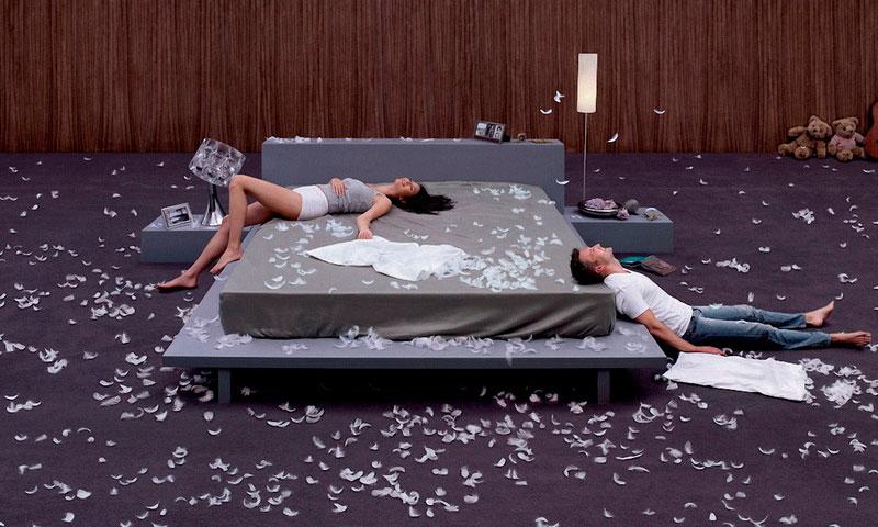 Какой матрас для двуспальной кровати выбрать