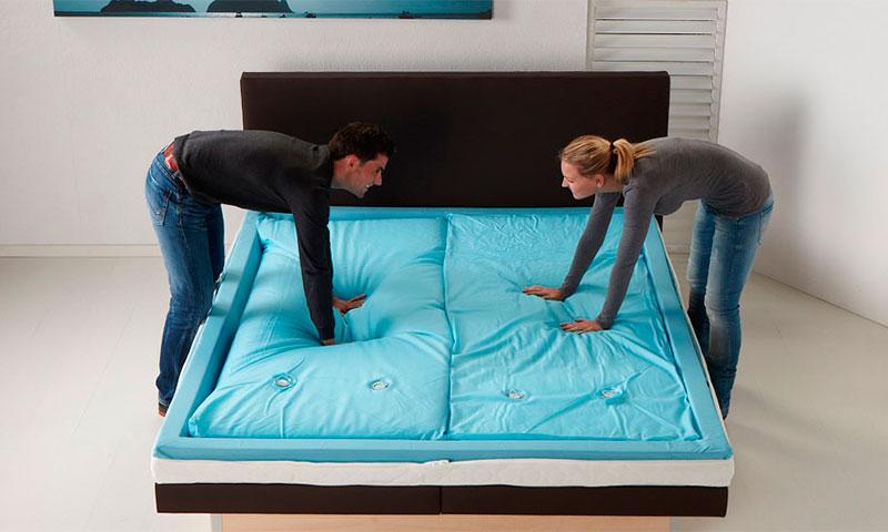 Параметры выбора для двуспальной кровати