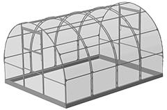 Бастион «Тюльпан» Премиум – с открывающейся крышей