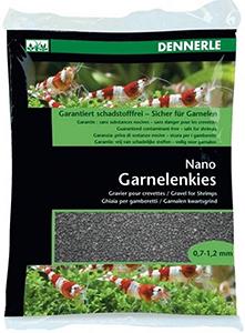 Dennerle Nano Garnelenkies (0,7-1,2 мм) – цветовая палитра из 9 оттенков