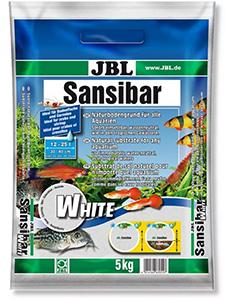 JBL Sansibar Белый (0.1-0.4 мм) – кварцевый песок