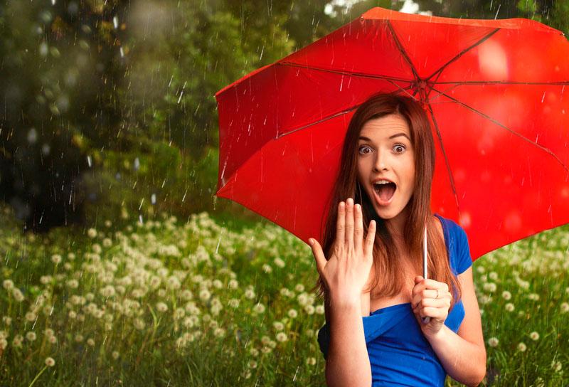 От дождя