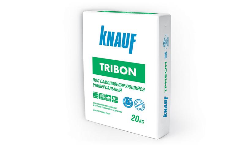 Наливной пол Knauf Трибон — один из самых быстрых по времени последующей укладки