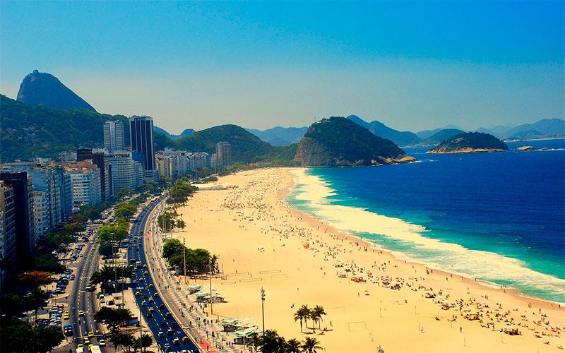 Braziliay. Copacabana