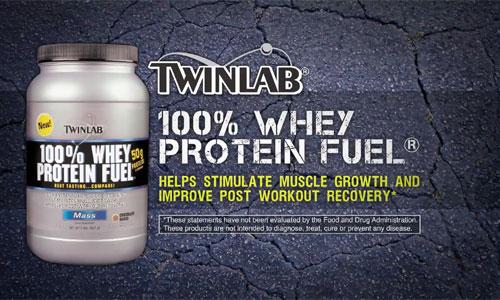 протеин Twinlab: 100% Whey Protein Fuel
