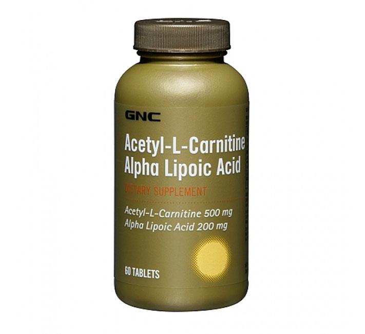 Alpha Lipoic Acid Acetyl L Carnitine 60
