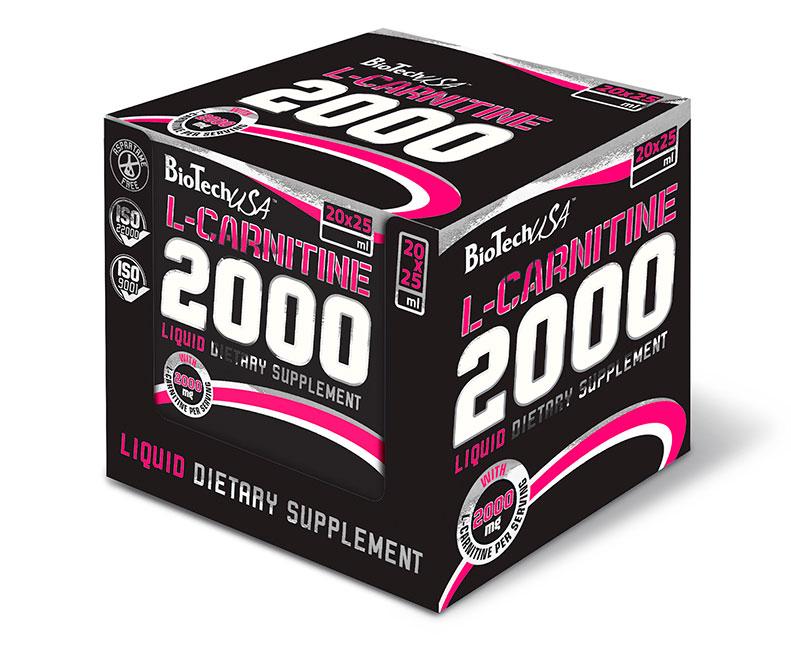 BioTech L Carnitine ampule 2000