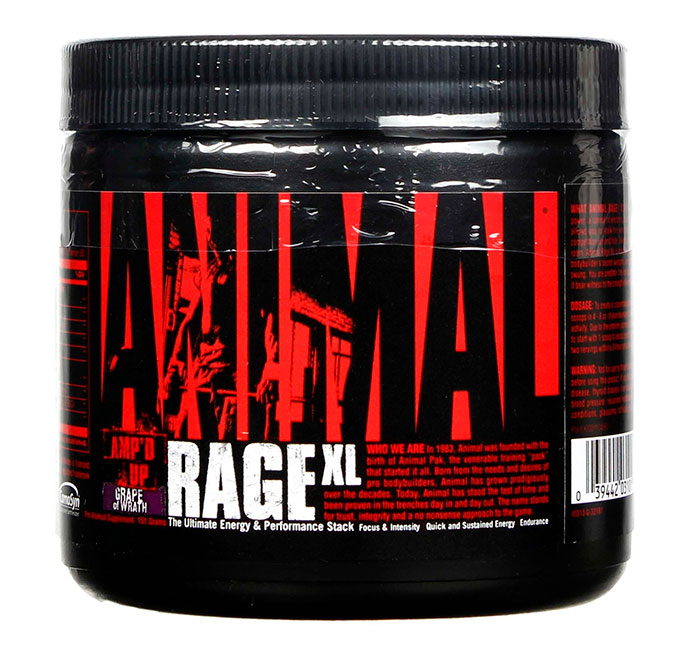 Animal Rage XL Universal Nutrition