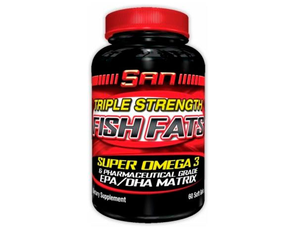 SAN Triple Strength Fish Fats