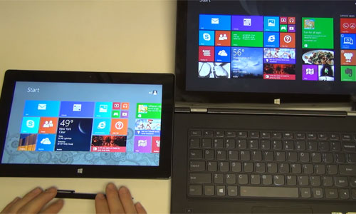 отличия планшета от ноутбука