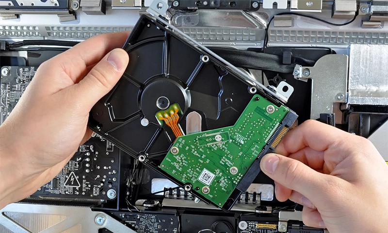 Ремонт жесткого диска ноутбука после падения своими руками 75
