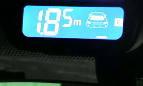 способ передачи сигнала на парктроник