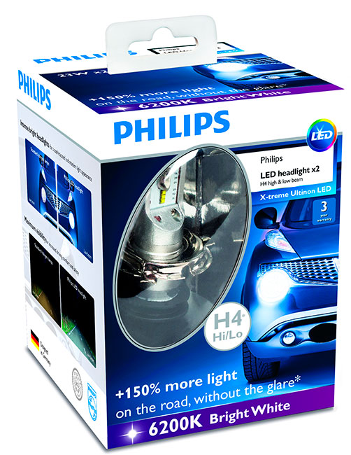 Philips LED X treme Ultinon 6200 K