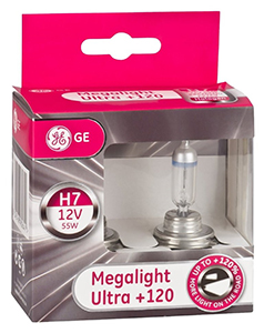 General Electric H7 MegaLight Ultra +120 GE98264