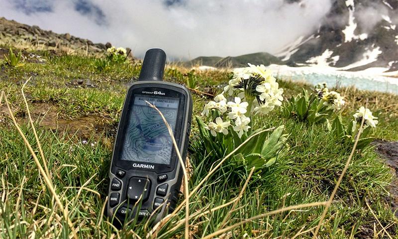 Туристический GPS