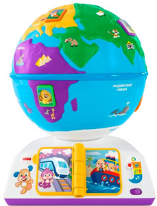 Умный глобус Fisher Price
