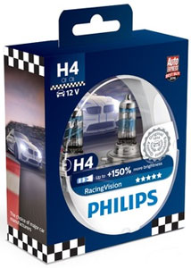 Philips Racing Vision 150 H4