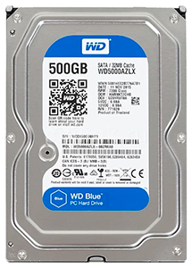 Western Digital WD Blue Desktop 500 GB (WD5000AZLX)