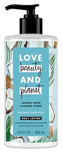 Love Beauty and Planet Coconut Water & Mimosa Flower Lotion