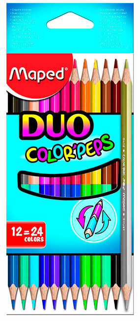 Maped Duo Color Peps