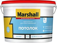 Marshall «Потолок» – самая популярная краска с матовым эффектом