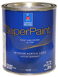 Sherwin Williams SuperPaint Interior Latex Flat – суперстойкая и укрывистая