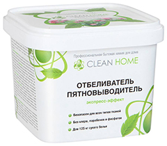 Clean Home Экспресс-эффект – лучший сухой пятновыводитель-отбеливатель