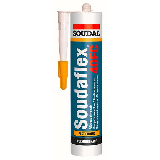 Soudal Soudaflex 40 FC белый 310 мл — для дверного проема