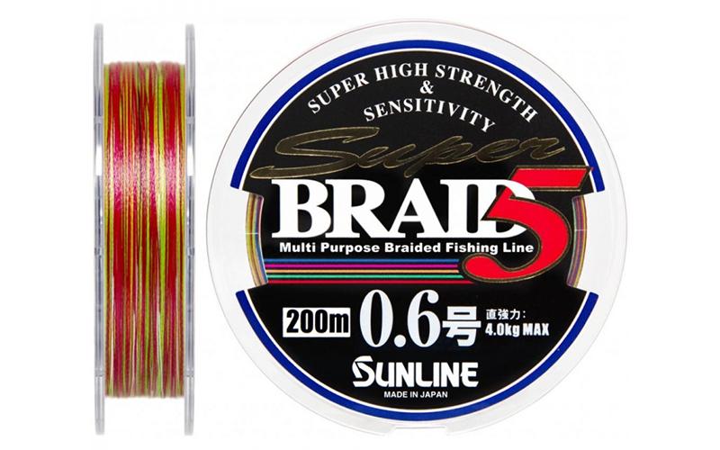 Super Braid 5HG 150 м 0.6 — с ярким дизайном