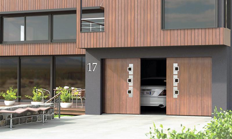 RYTERNA SSD – гаражные откатные ворота