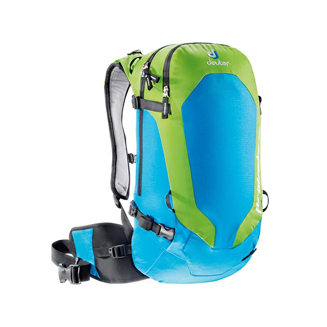 Deuter Provoke 14 SL blue/green (kiwi) - рюкзак для фрирайда