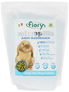 Fiory Micropills Dwarf Rabbits – корм для кроликов старше 7 лет