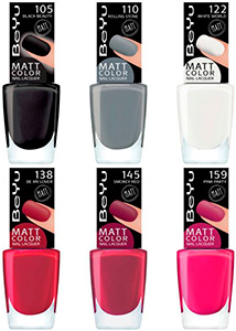 BeYu Matt Color Nail Lacquer