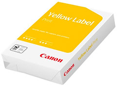 Canon Yellow Label