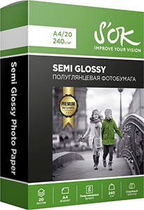 SOK Semi Glossy Photo Paper