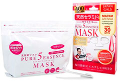 Japan Gals Pure 5 Essence Mask Ceramide Pack