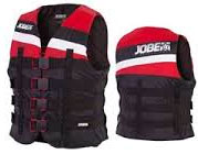 Jobe 19 4 Buckle Vest Red 3XL