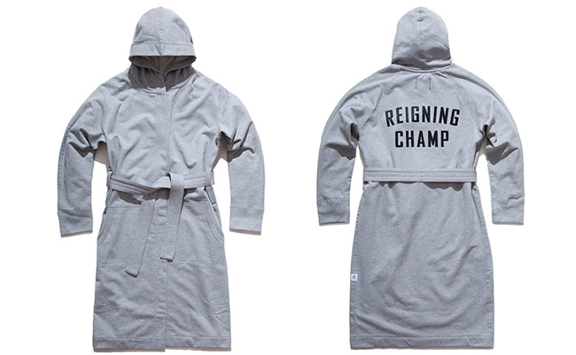 REIGNING CHAMP Hooded Robe 1072027