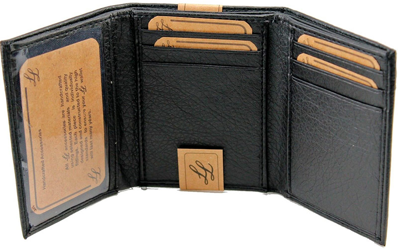LEATHEROLOGY Trifold with Card Wallet