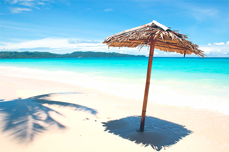 Filipini. White beach