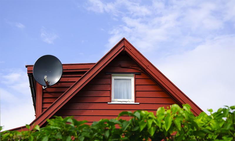 Особенности установки телевидения на даче