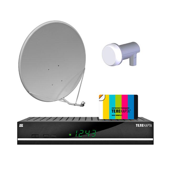 Telekarta HD GLOBO X 8 06