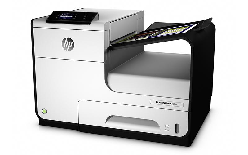PageWide Pro 452dw – струйный принтер с высокой скоростью печати для офиса