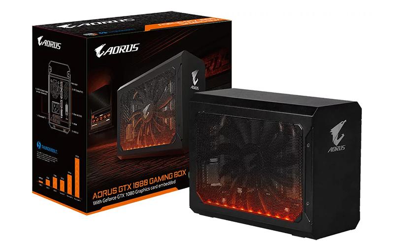 Aorus GTX 1080 Gaming Box – внешний бокс с 3D-видеокартой GeForce