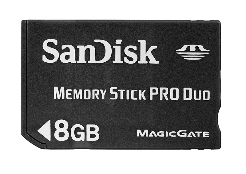 Sandisk Memory Stick PRO Duo