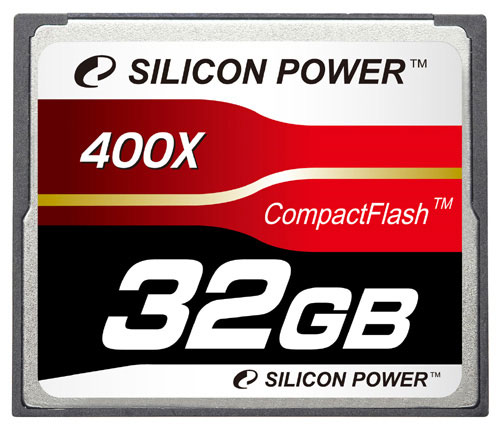 Silicon Power 400X Professional Compact Flash Card